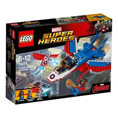 LEGO Marvel Super Heroes - Captain America Jet Takibi