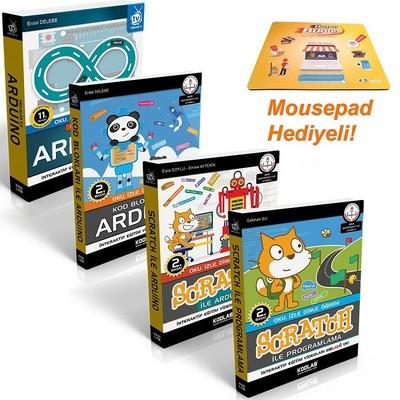 Scratch ile Arduino Eğitim Seti-4 Kitap Takım