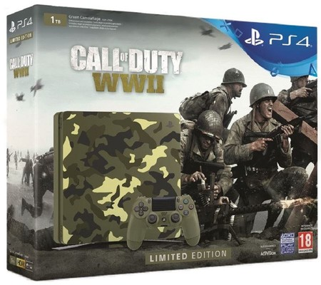 PS4 1TB E Cammo + Call Of Duty