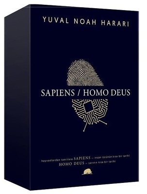 Yuval Noah Harari Kutulu Set-Sapiens/Homo Deus