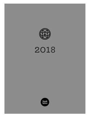 Sinek Sekiz Ajanda 2018