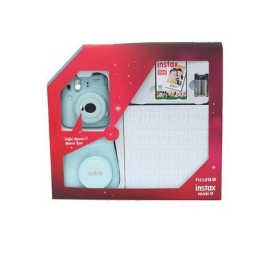 Fuji Instax Mini 9 Box2 Plus, Buz Mavisi