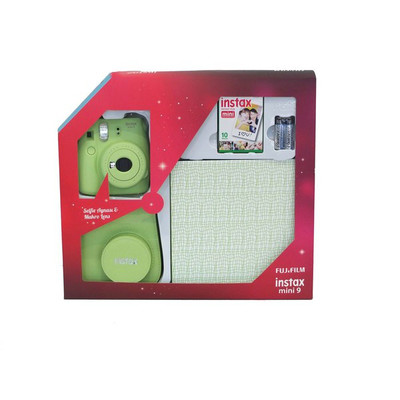 Fuji Instax Mini 9 Box2 Plus, Yeşil