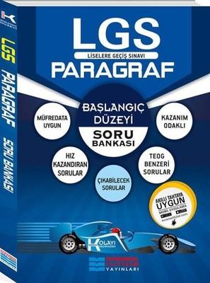 8.Sınıf LGS Başlangıç Düzeyi K Serisi Paragraf Soru Bankası