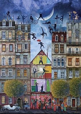 Art Puzzle - Düş Sokağı (4199) 500 Parça