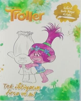 Troller Sihirli Sulu Boya Kitabi Kolektif Fiyati Satin Al