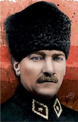 Atatürk 2 Yumuşak Kapaklı Defter - Aylak Adam Hobi