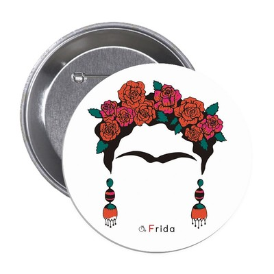 Aylak Adam Hobi-Frida Kahlo 3 Rozet