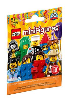 Lego Mini Figür Seri 18 71021