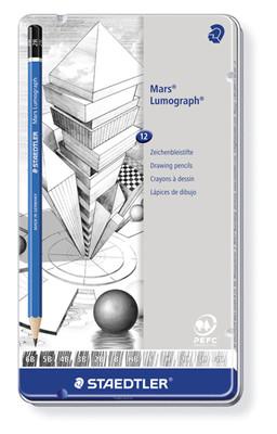 Staedtler Kurşun Kalem Mars 12Li MetalKutu