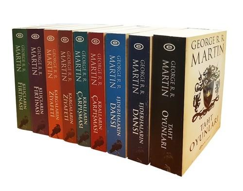 Game Of Thrones Taht Oyunları-9 Kitap Set-Özel Kutulu