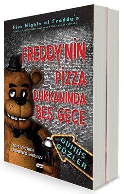 Freddy'nin Pizza Dükkanında Beş Gece Seti-2 Kitap Takım