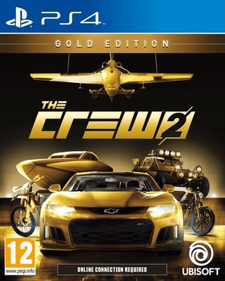 PS4 THE CREW 2 GOLD EDITION