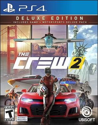 PS4 THE CREW 2 DELUXE EDT