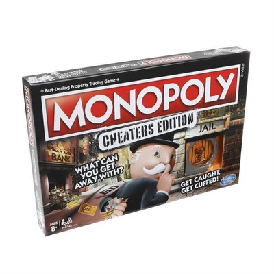Hasbro Games Monopoly Cheaters Edition (E1871)