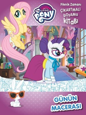 My Little Pony Gunun Macerasi Piknik Zamani Cikartmali Boyama