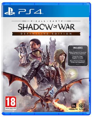 Shadow Of War: Definitive Edit PS4 INT