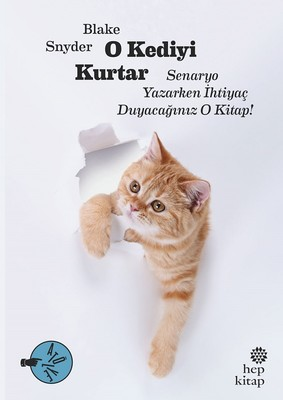 O Kediyi Kurtar: Senaryo Yazarken İhtiyaç Duyacağınız O Kitap!