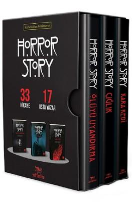 Horror Story Seti-3 Kitap Takım Kutulu