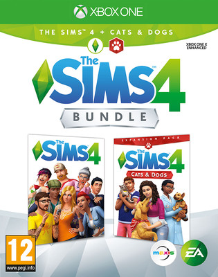 Xbox One The Sims 4 Ana Paket + Cats&Dogs Bundle