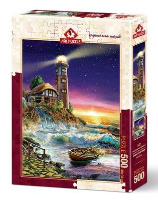 Art Puzzle 500 Denizfenerinden Günbatımı 4210