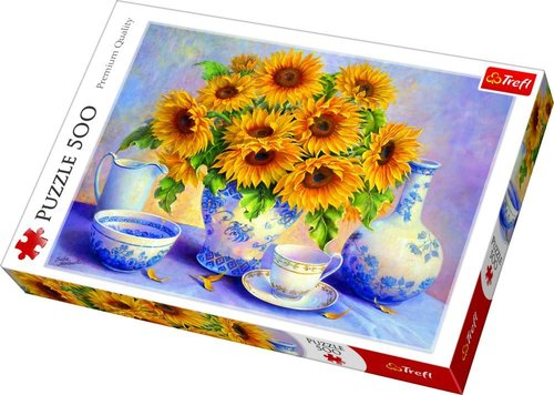 Trefl Puzzle Sunflowers, DDFA 500 Parça 37293
