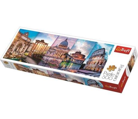 Trefl 500 Parça İtalya Seyahati Panorama Puzzle 29505