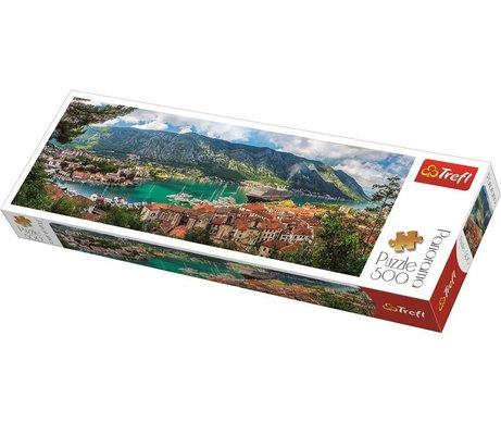 Trefl 500 Parça Karadağ Kotor Şehri Panorama Puzzle 29506