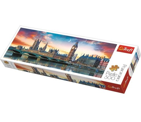 Trefl Puzzle Big Ben And Palace Of Westminster 500 Parça Puzzle