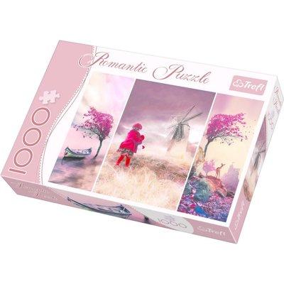 Trefl Puzzle 1000 Romantic Fairytale 10408