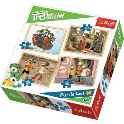 Trefl Puzzle 4in1 Studio Trefl 34271