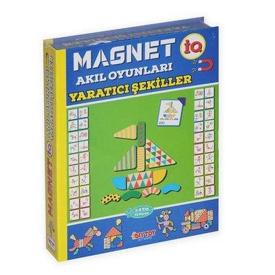 DiyToy-Eğt.Oyn.Magnetiq Yaratıcı Şekiller
