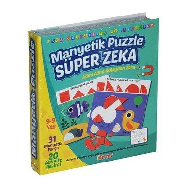 DiyToy-Eğt.Oyn.Manyetik Puzzle Süper Zeka