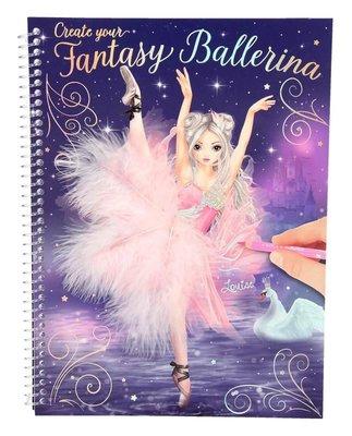 Top Model Fantasy Model Balerin Boyama Kitabi 10195 Fiyati Hemen