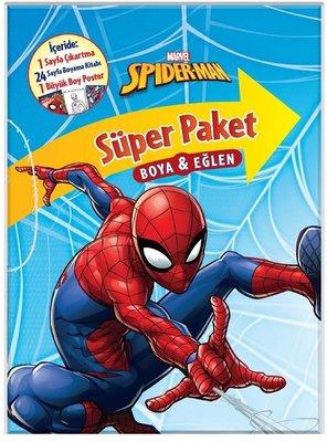 Marvel Spider Man Super Paket Boya Ve Eglen Kolektif Fiyati