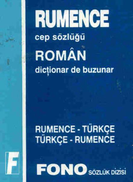 Rumence/Türkçe - Türkçe/Rumence Cep Sözlüğü