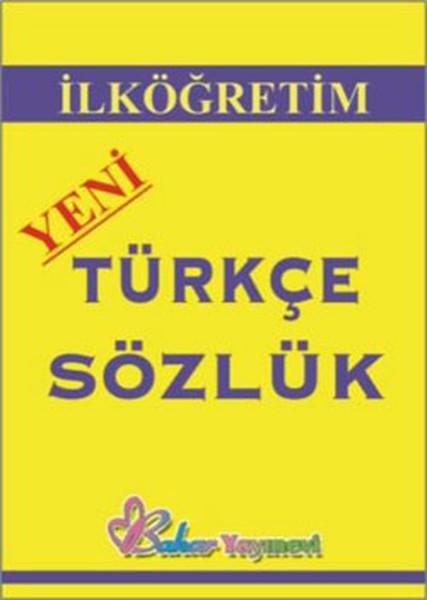 Bahar İlköğretim Türkçe Sözlük.pdf