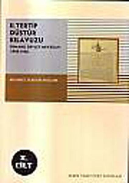 2.Tertip Düstur Kılavuzu (Osmanlı Devlet Mevzuatı 1908-1922) 2.Cilt.pdf
