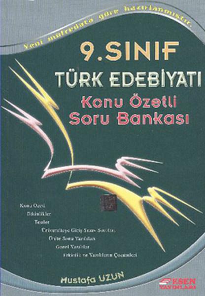 Esen 9. Sınıf Türk Dili ve Edebiyatı Konu Özetli Soru Bankası.pdf