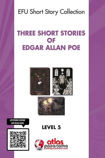 Three Short Stories of Edgar Allan Poe - Level 5 - Cd li