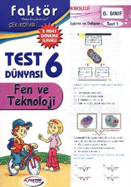 Faktör 6. Sınıf Fen ve Teknoloji Yaprak Test.pdf