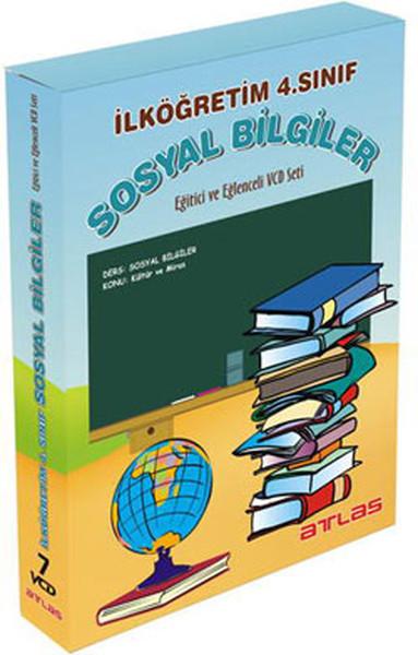 Atlas İlköğretim 4.Sınıf Sosyal Bilgiler Vcd Seti 7 VCD + Rehberlik Kitapçığı.pdf
