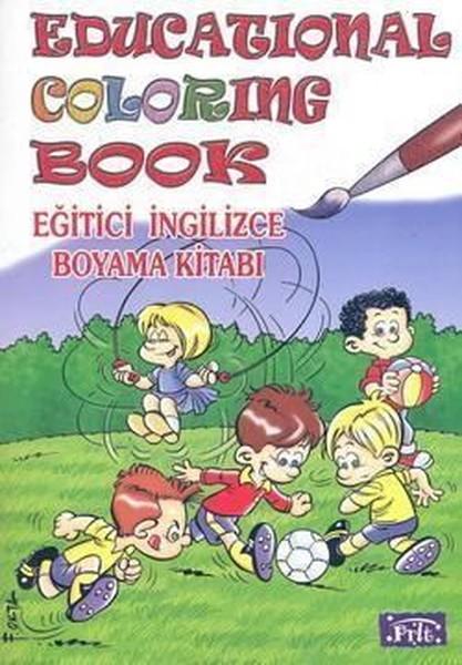 Educational Coloring Book - Eğitici İngilizce Boyama Kitabı.pdf