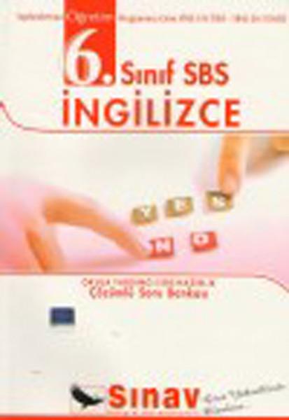 Sınav 6. Sınıf SBS İngilizce Çözümlü Soru Bankası.pdf