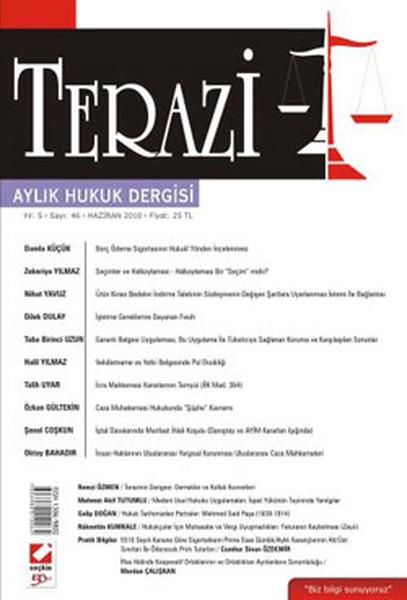 Terazi Aylık Hukuk Dergisi - Sayı 46.pdf
