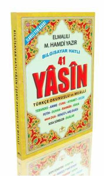 Fihristli 41 Yasin - Namaz Sureleri ve Dualar - Hafız Boy.pdf
