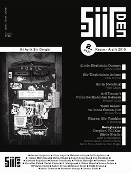Şiirden İki Aylık Şiir Dergisi - Sayı: 2 - Kasım-Aralık 2010.pdf