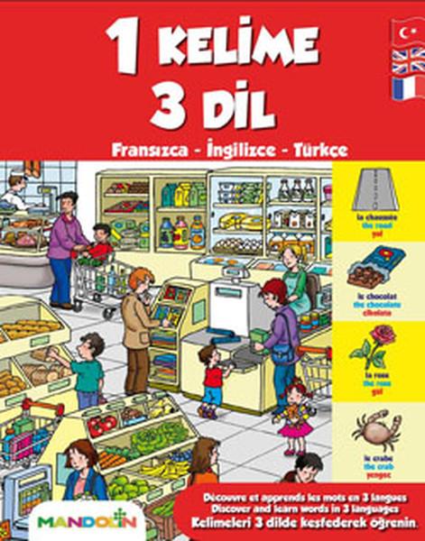 1 Kelime 3 Dil - Fransızca-İngilizce-Türkçe.pdf