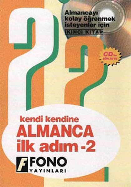 Almanca İlk Adım - 2 (3 CD'li) - Kutulu