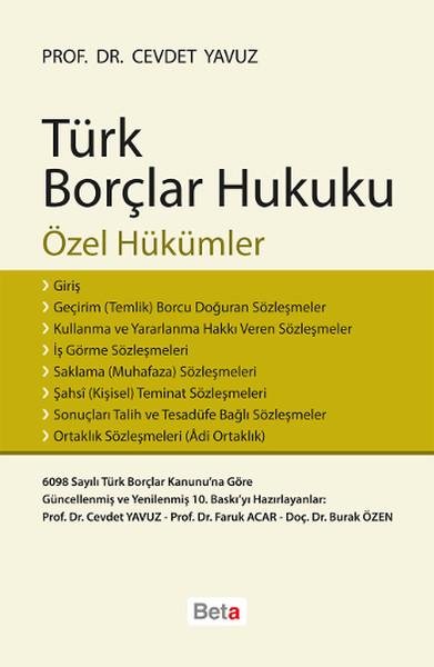 Türk Borçlar Hukuku Özel Hükümler.pdf